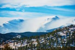 Winter Colorado Rockies Royalty Free Stock Image