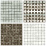 Winter colors squares scrapbook backgrounds Stock Images