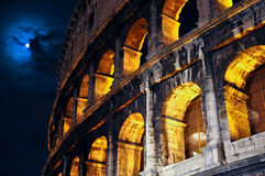 Winter colosseo Royalty Free Stock Photos