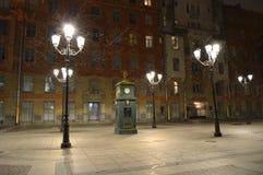 Winter is coming. Winter in Saint-Petersburg city. stock image