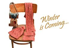 Winter is coming Royalty Free Stock Photography