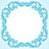 Winter concept frame. Royalty Free Stock Photos