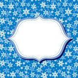 Winter congratulations background Royalty Free Stock Photo
