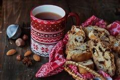 Winter cookies Royalty Free Stock Photos