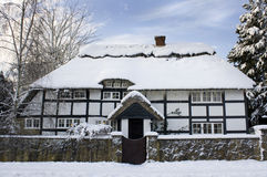 Winter cottage Royalty Free Stock Image
