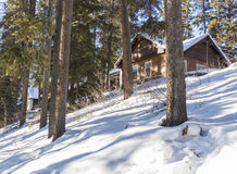 Winter Cottages Royalty Free Stock Image