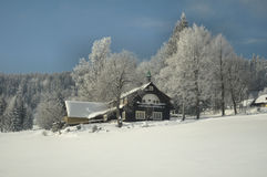 Winter country Stock Photo