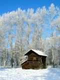 Winter in country Royalty Free Stock Photos