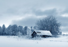 Winter country Royalty Free Stock Photography