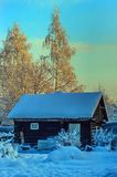 Winter in the countryside Stock Image