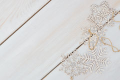 Winter cozy christmas background stock images