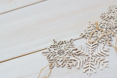 Winter cozy christmas background Stock Photo