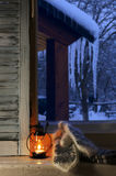 Winter cozy still life Royalty Free Stock Image