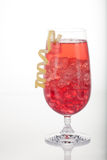 Winter Cranberry Cocktail Royalty Free Stock Photos