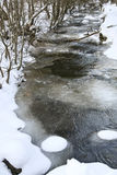 Winter creek Stock Photography