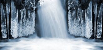 Winter creek Royalty Free Stock Images
