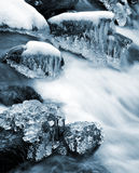 Winter creek Royalty Free Stock Photo