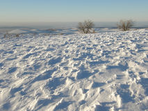Winter in Crimean mountains Royalty Free Stock Photography