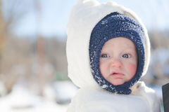 Winter: Curb Your Enthusiasm! Stock Images