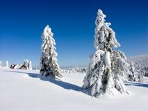 Winter in Czech republic Royalty Free Stock Images