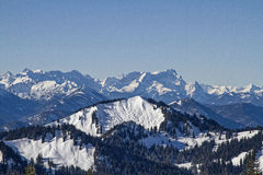 A winter day at Hirschberg Royalty Free Stock Image