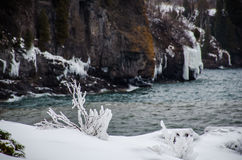 Winter day at Lake Superior Royalty Free Stock Images