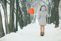 Free Winter Day Of St. Valentine Royalty Free Stock Photography - 63272307
