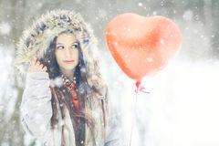 Free Winter Day Of St. Valentine Stock Image - 63272471