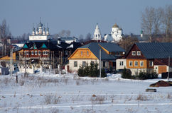 Winter day in Suzdal, Russia Stock Photos