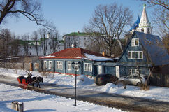 Winter day in Suzdal, Russia Royalty Free Stock Photos