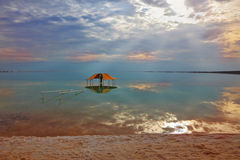 Winter in the Dead Sea Stock Photography