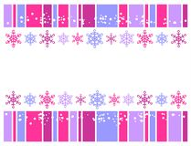 Winter decor royalty free illustration