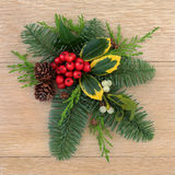 Winter Decoration Stock Photo