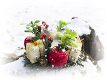 Winter decoration stock illustration