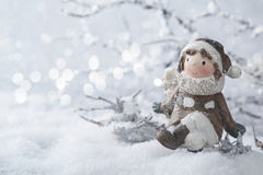 Winter decoration Stock Photos