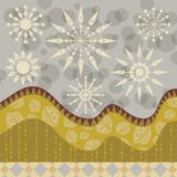 Winter Decorative Background Stock Image