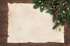 Winter Decorative Border Royalty Free Stock Images