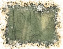 Winter decorative illustration stock images