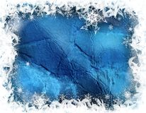Winter decorative illustration Stock Image
