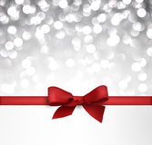 Winter defocused christmas background. Royalty Free Stock Photography