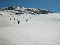 Winter in den Alpen. Lizenzfreie Stockfotografie
