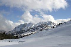 Winter in den Bergen von der Türkei Lizenzfreie Stockfotos