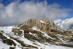 Winter in den Bergen von der Türkei Lizenzfreie Stockbilder
