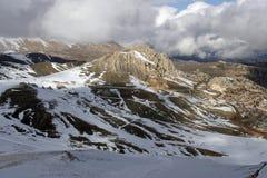 Winter in den Bergen von der Türkei Stockfoto