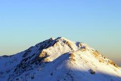 Winter in den Bergen von der Türkei Stockfotografie