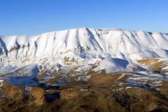 Winter in den Bergen von der Türkei Lizenzfreie Stockfotografie