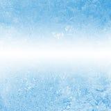 Winter, der gefrorene Hintergrund Lizenzfreies Stockbild