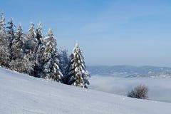 Winter in der Landschaft lizenzfreie stockfotografie