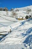 Winter an der Landschaft Stockbilder