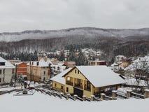 Winter in der Stadt Lizenzfreie Stockfotografie
